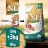 N&D Low Grain Chicken & Pomegranate для крупных и средних пород (15 кг.)